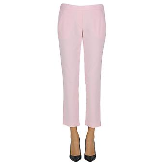 Hopper ladies MCGLPNP03079E pink cotton pants