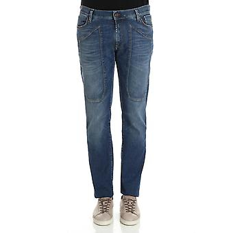 Enterprise men's 36PCJUPA77SD00052D426 blue cotton of jeans