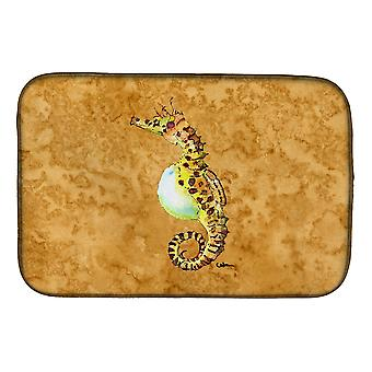 Carolines Treasures  8640DDM Seahorse Dish Drying Mat
