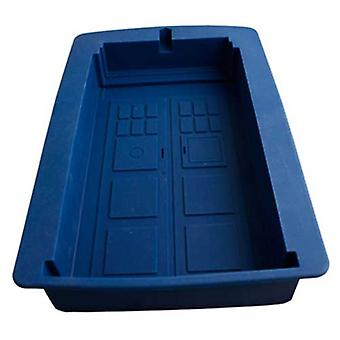 Doctor Who Tardis Silicone Cake Mould