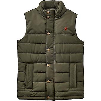 Joules Boys Matchday Warm Polar Fleece Lined Gilet Bodywarmer