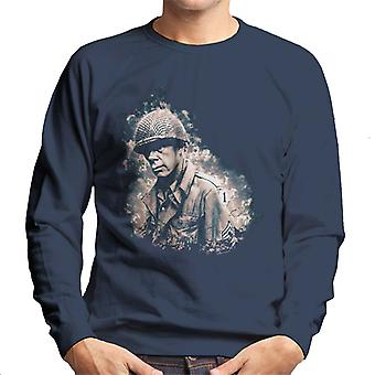 Lee Marvin In The Big Red One 1978 Men's Sweatshirt