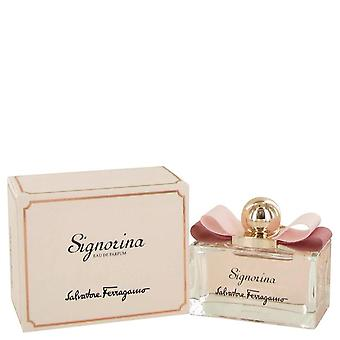 Signorina Eau De Parfum Spray By Salvatore Ferragamo
