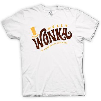 Koszulka damska - Willy Wonka i fabryka czekolady - BW