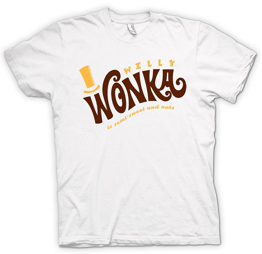 T-shirt Femmes - Willy Wonka Et Chocolate Factory - BW