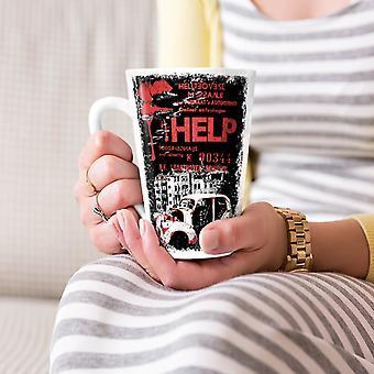 Help Hell City Fashion NEW White Tea Coffee Ceramic Latte Mug 17 oz | Wellcoda