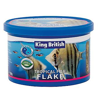 King British Tropical Fish Flake Complete Food (with IHB)