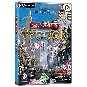 Monopoly Tycoon (PC CD)