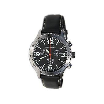 Aristo Messerschmitt Men's clock Chrono Pilots Watch ME 5031L / 5031L