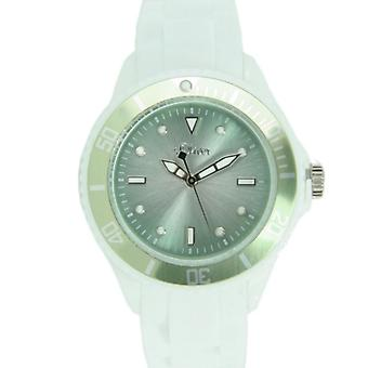 s.Oliver ladies watch Silicon strap watch white light green metallic SO-2700-PQ