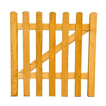 Forest Garden 3ft Wooden Picket Fence Gate