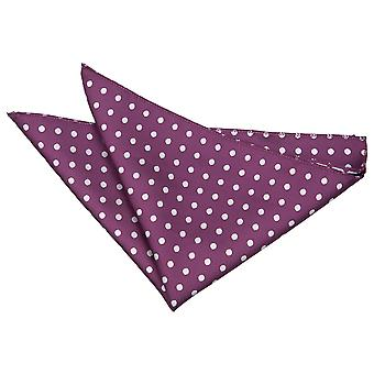 Piazza viola Polka Dot Pocket