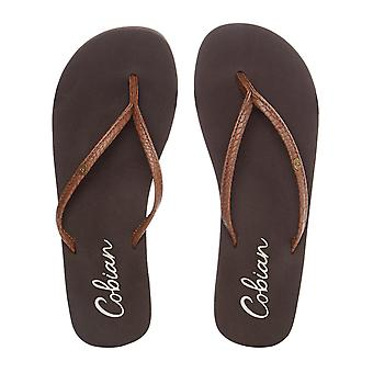 Cobian Chocolate Nias Bounce Womens Flip Flop