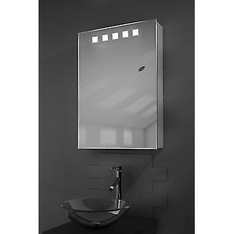 Deva Demister LED Cabinet With Demister, Sensor & Shaver k393