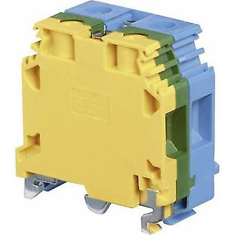 ABB 1SNA 165 575 R2500 Base terminal block 32 mm Screws Configuration: Terre, N Green-yellow, Blue 1 pc(s)