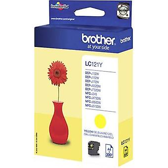 Brother tinta LC-121Y Original amarillo LC121Y