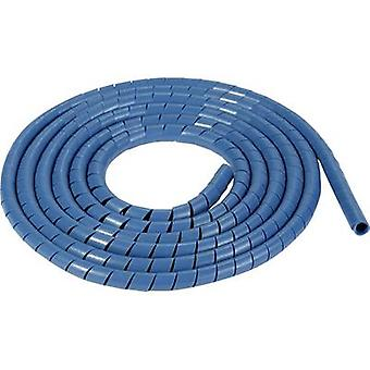 HellermannTyton SBPEMC4-PE-BU-30M Spiral tube 5 up to 20 mm Blue Sold by the metre