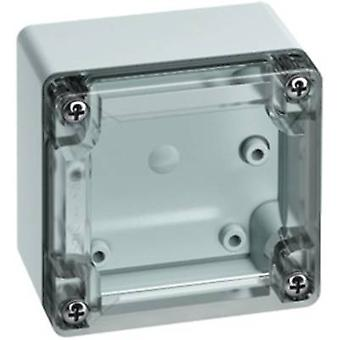 Build-in casing 84 x 82 x 55 Polycarbonate (PC) Light grey (RAL 7035)