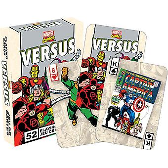 Marvel Comics Versus Retro Set Of 52 Playing Cards
