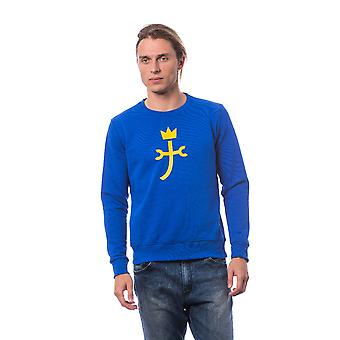 Pullover Electric blue CB2025 FS03 Castelbajac Man