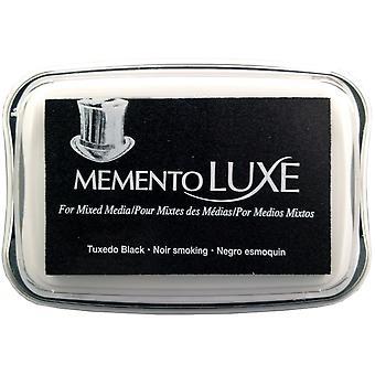 Memento Luxe Ink Pad-Tuxedo Black