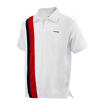 Hoofd Baddley zip Polo 811253-WHRB