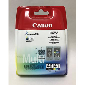 NEW Canon Pixma Printer Ink PG40 CL41 black and colour ink cartridges