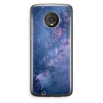 Motorola Moto G6 et boîtier Transparent (doux) - nébuleuse