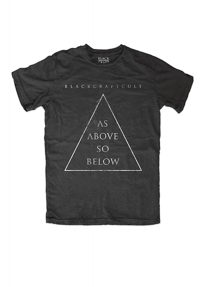 noircraft culte comme ci-dessus So Below Triangle Tee
