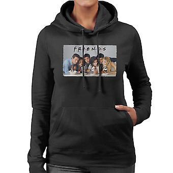 Retro Friends Cast Women's Hooded Sweatshirt