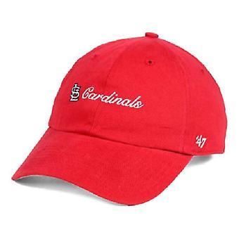 セントルイス ・ カージナルス MLB 47 ブランド コハセット調節可能な帽子