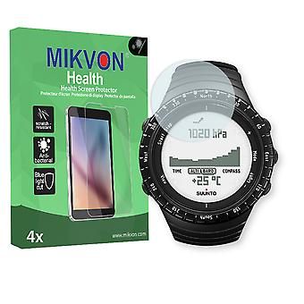 Suunto Core Regular Black Screen Protector - Mikvon Health (Retail Package with accessories)