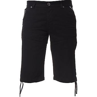 Shorts in Denim uomo nero | Menswear Designer Enzo