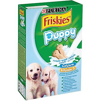 Friskies Puppy Milk Snacks cookie with milk Puppies (Dogs , Treats , Biscuits)