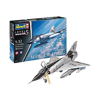 Revell 03919 3919 Dassault Aviation Mirage III E 1:32 Scale Plastic Model Kit