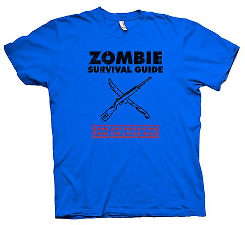 Mens T-shirt - Zombie Survival Living Dead - lustig