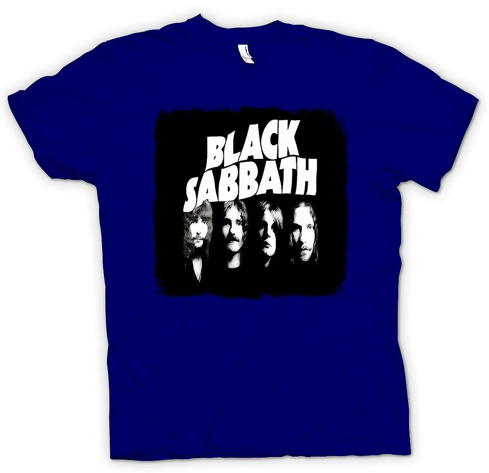 Mens T-shirt - Sabbath - Band - Heavy Metal