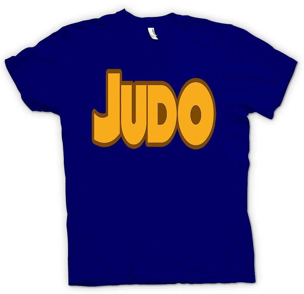 Heren T-shirt-Judo - Martial Art - Slogan