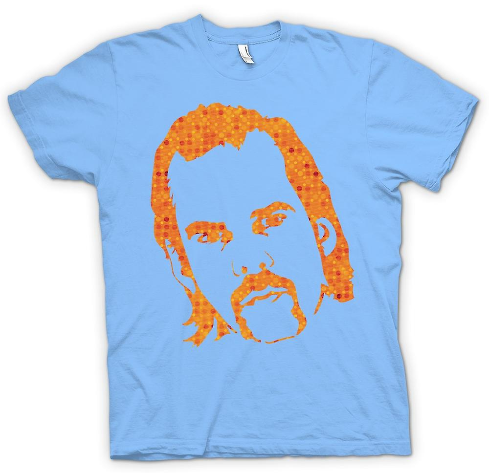 Mens T-shirt-Nick Cave portret