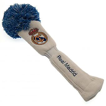 Real Madrid FC oficial conductor Headcover de pompón