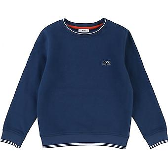 Hugo Boss Boys Hugo Boss Kids Teal Sweatshirt