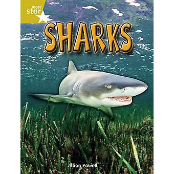 Rigby Star Independent Year 2 Gold Non Fiction - Sharks Single by Jill