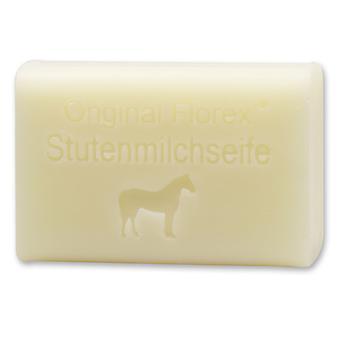 Florex får mjölk tvål - häst - mjölk krämig mjölk tvål rikligt med fukt särskilt mild 100 g