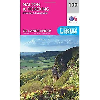 Landranger (100) Malton & Pickering, Helmsley & Easingwold (OS Landranger mapa)