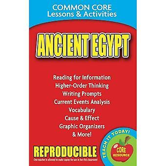L'Egypte ancienne commune Core leçons & activités