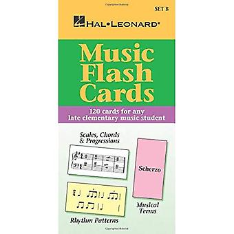 Music Flash Cards - Set B: Hal Leonard Student Piano Library