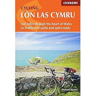 Cykling Lon Las Cymru: 250 miles genom hjärtat av Wales på bilfria vägar och lugna vägar