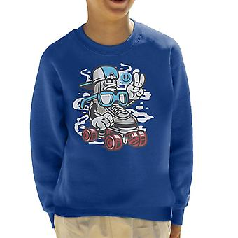 I Line Skater børne Sweatshirt