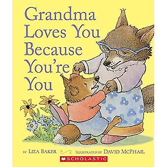 Oma houdt van je omdat je je [Board boek]
