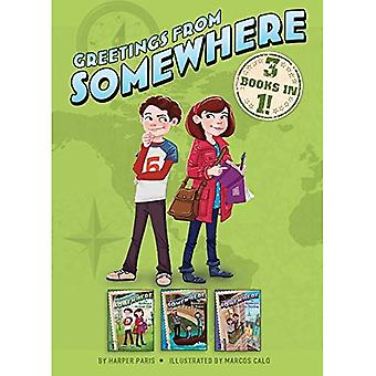 Greetings from Somewhere 3 Books in 1!: The Mystery of the Gold Coin; The Mystery of the Mosaic; The� Mystery of the Stolen Painting (Greetings from Somewhere)